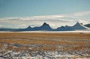 Landscape, near Baruunturuun, Uvs Province, Mongolia