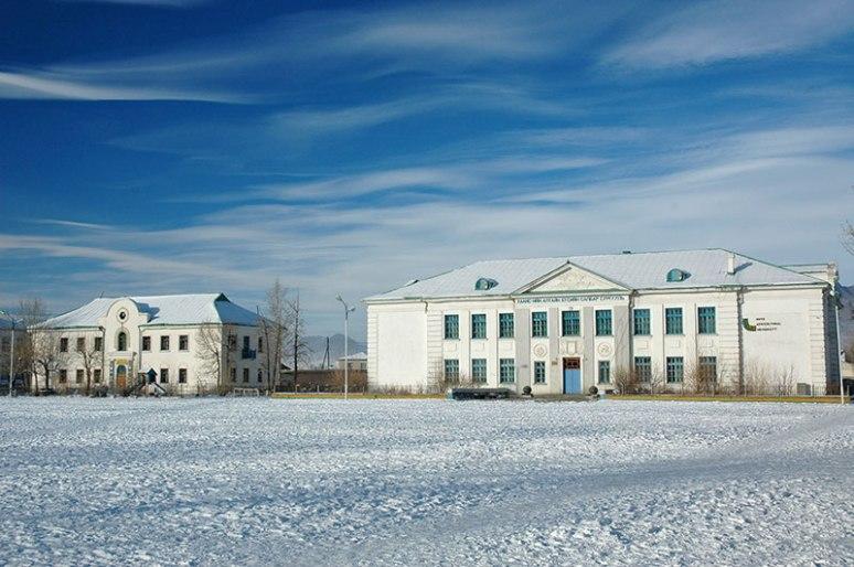 Ard Ayush Square, Khovd, Khovd Province, Mongolia