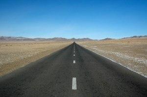 Road to Tsagaannuur, Bayan-Ölgii Province, Mongolia