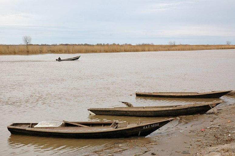 Ural River, Damba, Atyrau Region, Kazakhstan