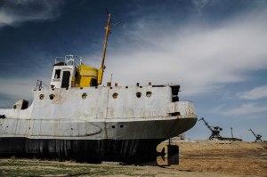Beached Ship, Aral, Kyzylorda Region, Kazakhstan
