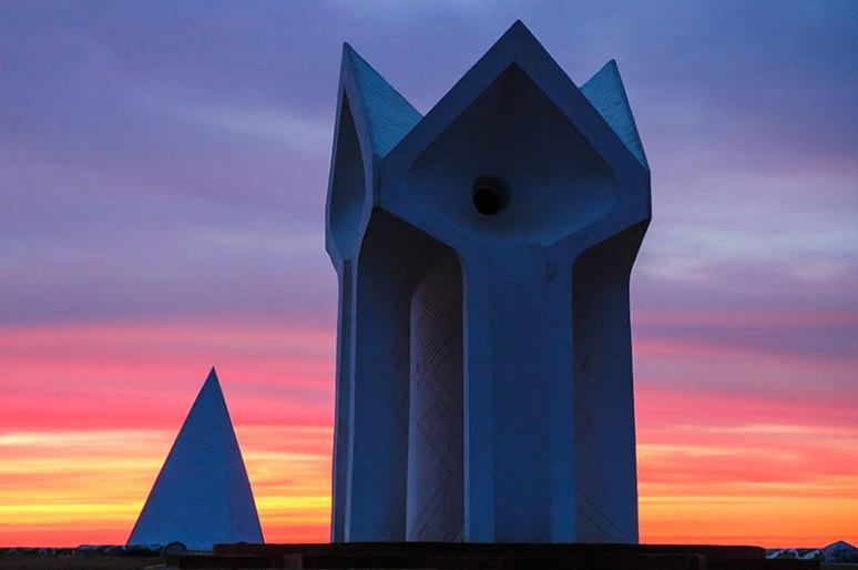 Korkut Ata Monument, Kyzylorda Region, Kazakhstan