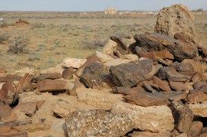 Ancient Grave, Kyzylorda Region, Kazakhstan