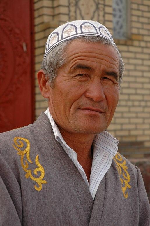 Kazakh Man, Taraz, Jambyl Region, Kazakhstan