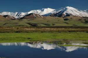 Suusamyr Valley, Chuy Province, Kyrgyzstan