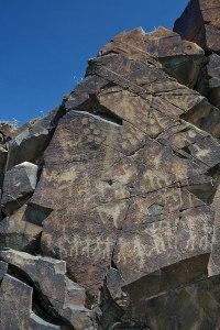Petroglyphs, Tamgaly, Almaty Region, Kazakhstan