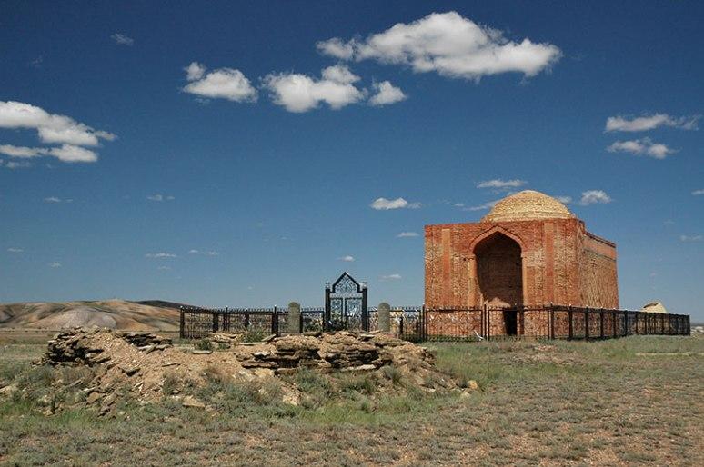 Mausoleum Of Alasha Khan, Karaganda Region, Kazakhstan