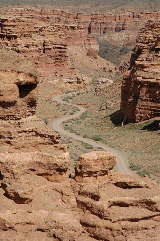 Charyn Canyon, Almaty Province, Kazakhstan
