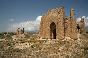 Taylik Batyr Mausoleum, Ak-Tal, Naryn Region, Kyrgyzstan