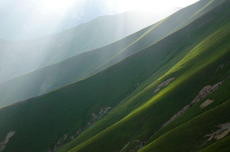 Fergana Mountains, Jalalabad Region, Kyrgyzstan