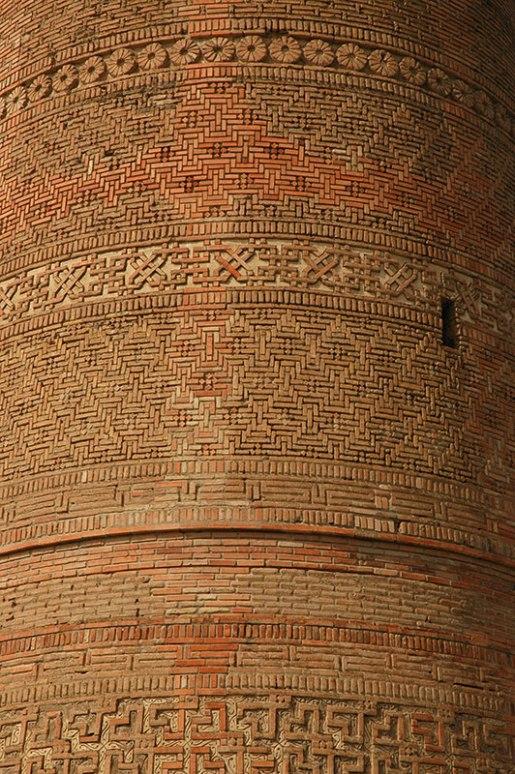 Kara-Khanid Minaret, Uzgen, Osh Region, Kyrgyzstan