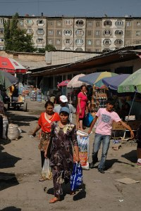 Bazaar, Osh, Kyrgyzstan