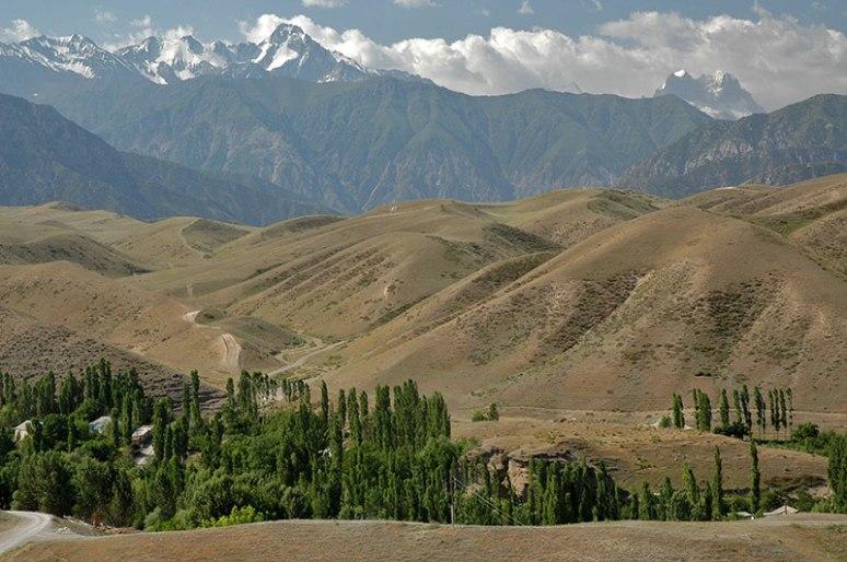 Turkestan Range, near Korgon, Batken Region, Kyrgyzstan