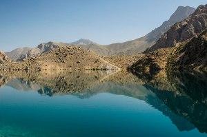 Hazor Chashma Lake, Sughd Region, Tajikistan
