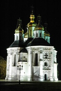 St Catherines Church, Chernihiv, Chernihiv Region, Ukraine