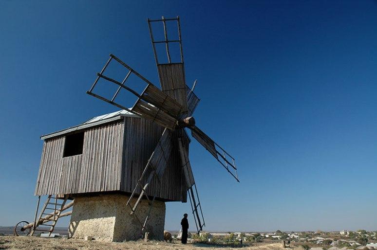 Windmill, Beşalma, Gagauz Autonomous Region, Moldova
