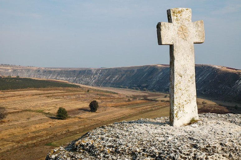 Stone Cross, Old Orhei, Moldova