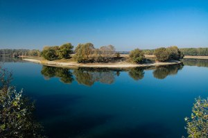 Dniester River Bend, near Grigoriopol, Transnistria