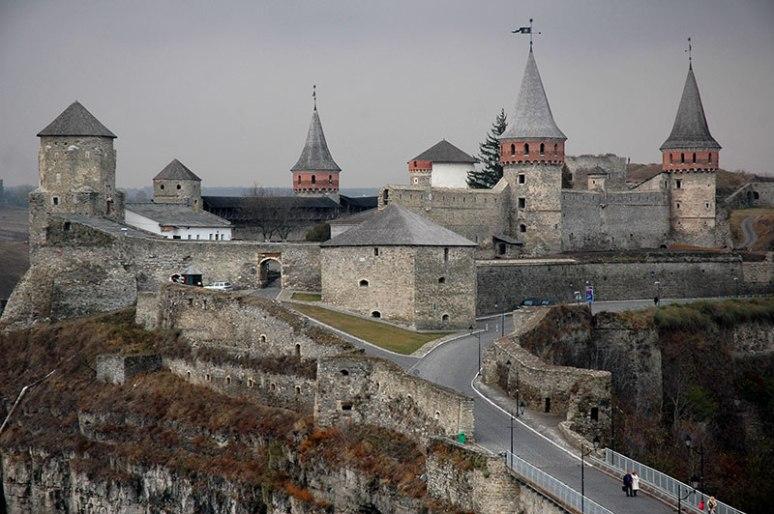 Castle, Kamianets-Podilskyi, Khmelnytskyi Region, Ukraine