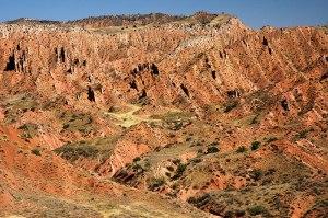 Landscape, near Tashkömür, Jalal-Abad Region, Kyrgyzstan