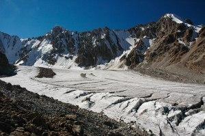 Ak Say Glacier, Ala Archa National Park, Chuy Region, Kyrgyzstan