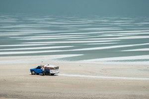 Salt Falts, Lake Urmia, West Azerbaijan Province, Iran