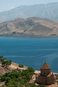 Cathedral of the Holy Cross, Akdamar Island, Van Province, Turkey