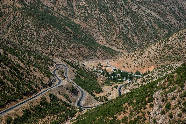 Highway D400, Yukarİarus, Şırnak Province, Turkey