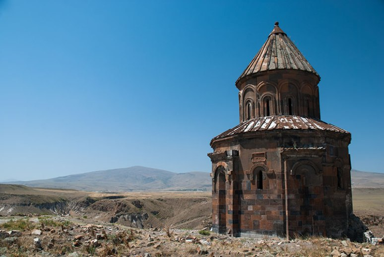 Saint Gregory of the Abughraments Church, Ani, Kars Province, Turkey