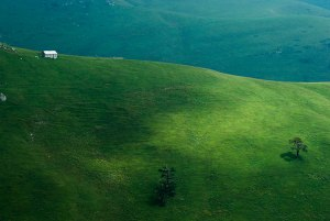 Landscape. near Zekari Pass, Imertei Region, Georgia