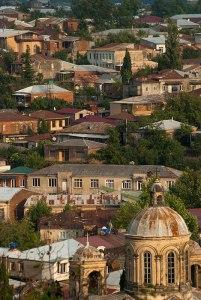 Skyline, Kutaisi, Imereti Region, Georgia