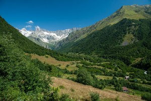 Chveshura Valley, Racha-Lechkhumi and Kvemo Svaneti Region, Georgia