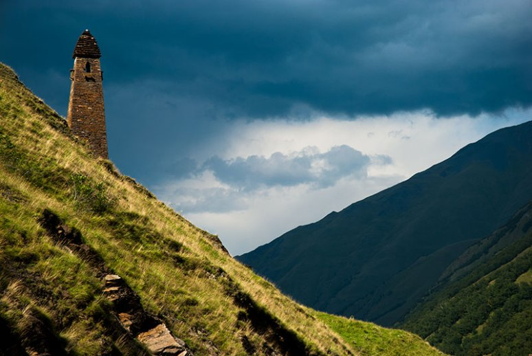 Lebaiskari Tower, Mtskheta-Mtianeti Region, Georgia