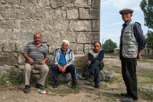 Greek Men, Beshtasheni, Kvemo Kartli Reigon, Georgia