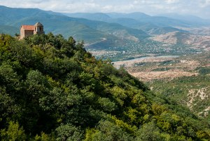 Mtkvari Valley, Mtskheta-Mtianeti Region, Georgia